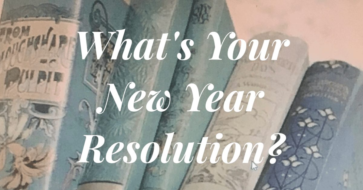 whats your new year resolution