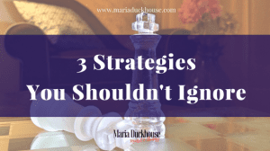3 Strategies you shouldn't ignore