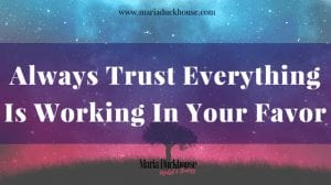 Trust & the Law of Attraction