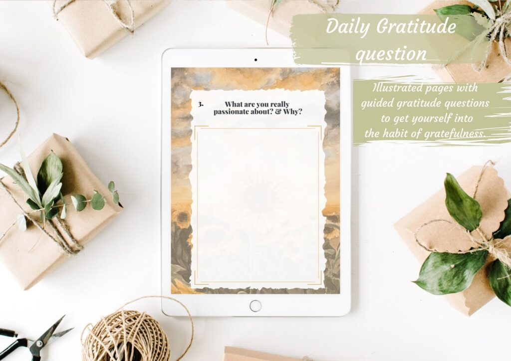 Digital Gratitude Journal