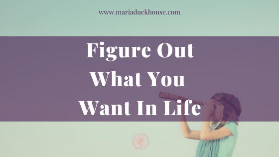Figure-Out-What-You-Want